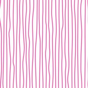 wonky upstripes (pink)