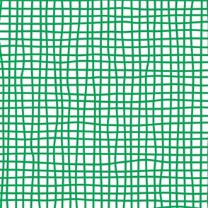 wonky checks (green)