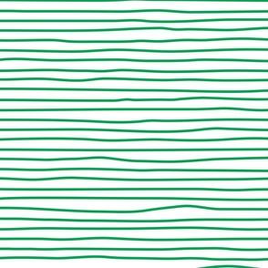 wonky sidestripes (green)