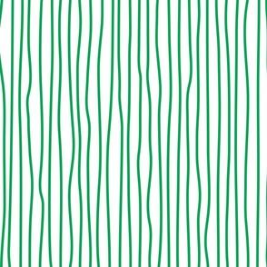 wonky upstripes (green)