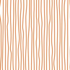 wonky upstripes (orange)