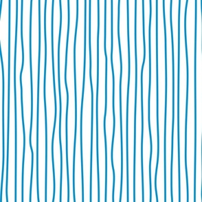 wonky upstripes (blue)
