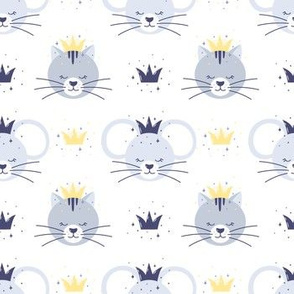 Сute sleepy kittens and mice