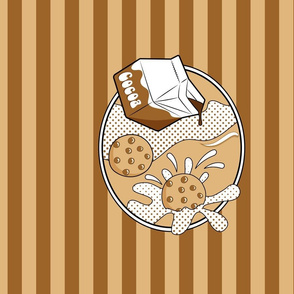 Pop Art - Cookies and Cocoa_Stripes