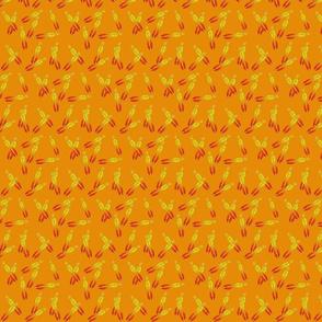 Sm Hope Dulcimer on Orange by DulciArt, LLC