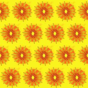 Sm Hope Dulcimer Sun in Yellow by DulciArt,LLC