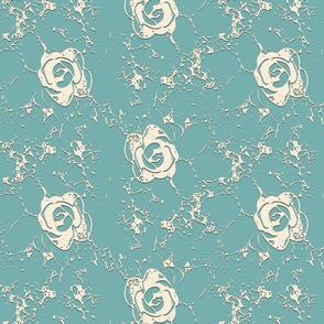 Rococo Rose Lace