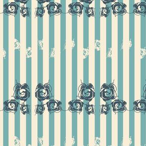 Rococo Stripes and Dots