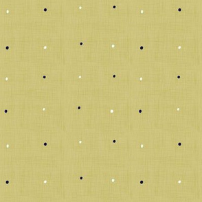 Nazar Tiny Charms Coordinate - Olive Yellow