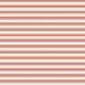 SMALL STRIPES IN CORAL