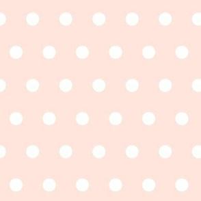 Polka Dots (baby pink)