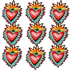 Sacred Red Hearts