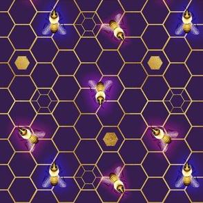 SwarmWatch Glow (Violet Variation)