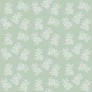 Delicate Fern Shade 15 Linen // small