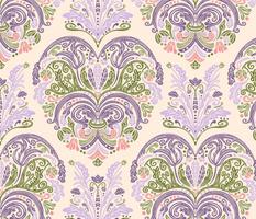 Rococo Style Pastel Floral Design / Medium Scale