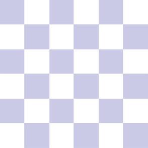 lilac white checker chess