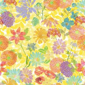 Aquarel flowers