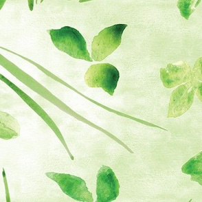 Lucky Clover Green - Large Scale