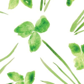 Lucky Clover White - Large Scale