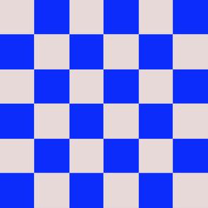bauhaus blue checker chess square
