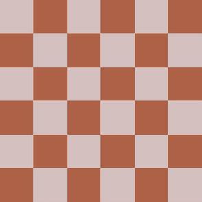 beige terracotta checker chess