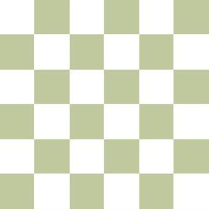 pistachio green checker
