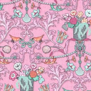 Spring Rococo (Cotton Candy)