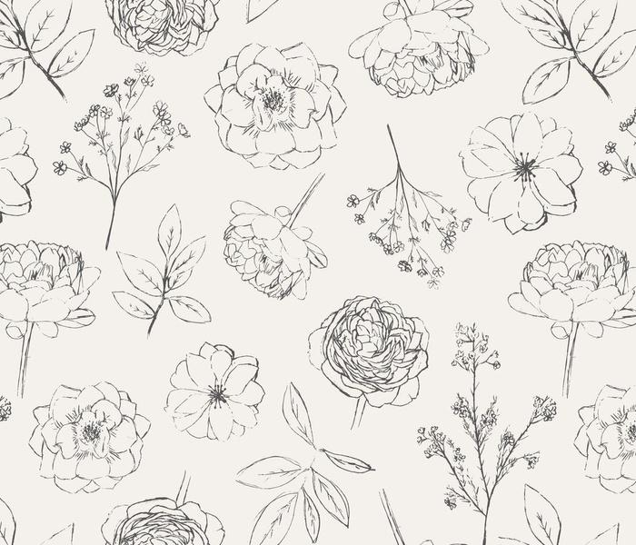 Hand-drawn-flowers