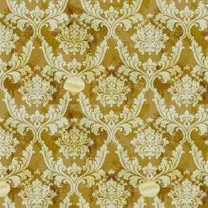 Vintage Rococo Antique Gold
