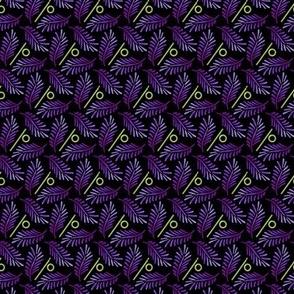 Purple palm_small print