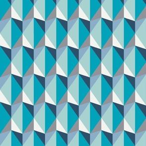minimalism green triangles - big