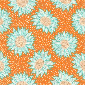 Normal scale • Always sunflowers orange