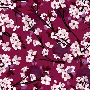 Dramatic Plum Blossoms