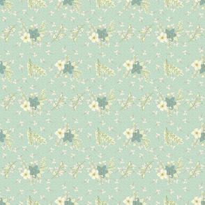 hand drawn florals challenge Spoonflower TerriConradDesigns