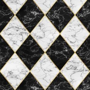 rococo marbre rhombus