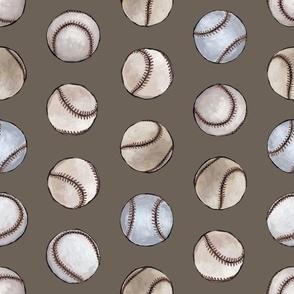 Baseball Back Then on Brown