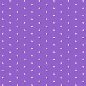 Dainty Dotted Swiss Dandies in Pink Gradient on Lavender