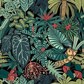 Jungle Leaves - Large