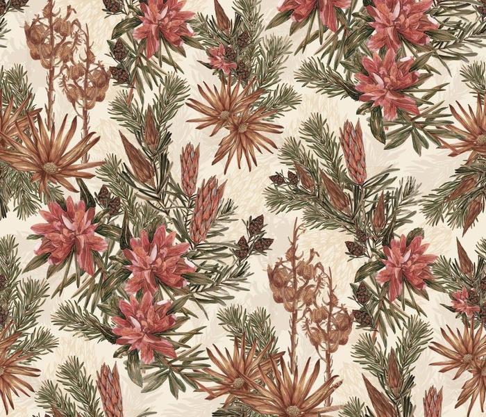 Vintage Mountain Protea