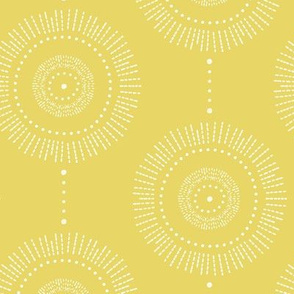 Glimmer_-_boho_geometric_medallion_regular_scale_watercolor_citron_yellow_and_white