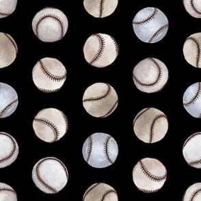 Baseball Back Then on Black