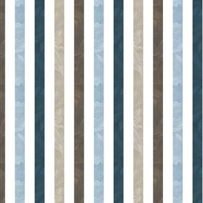 Small Stripe - Baseball Back Then on white