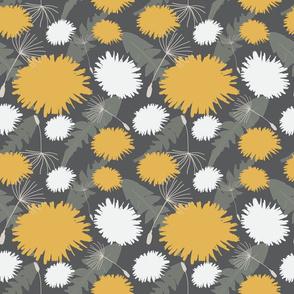 Dandelion Tea Floral Pattern
