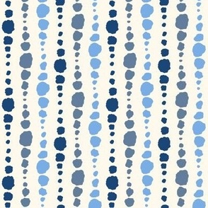 Apricot and Rust Floral - medium scale