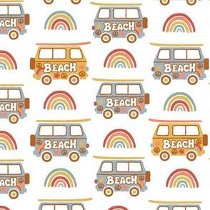 60's Baby Surf Caravan -BIGGER