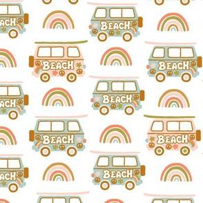 60's Baby Surf Caravan-pastel- BIGGER