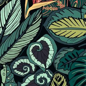 Jungle Leaves - Small