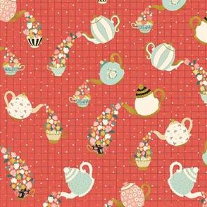 Teacups and Teapots by DEINKI
