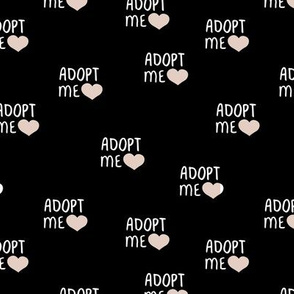 Adopt me pet love adopt don't stop dogs and cats good cause design olive green
