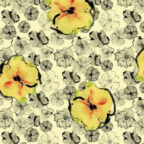 Yellow-blossoms-yellow